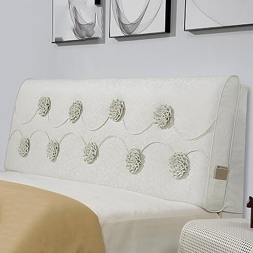 GUOWEI Coussin de chevet Canapé-lit Grand coussin rempli Dossier Support de positionnement Pillow Reading Pillow-3 Couleurs, 4 tailles disponibles Bureau Lumbar Pad ( Couleur : C , taille : 200*60*10cm )