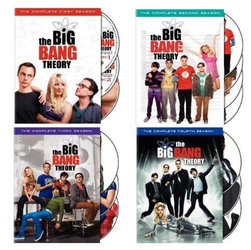 The Big Bang Theory: Seasons 1-4 (Big Bang Theory Dvd Season 1 compare prices)