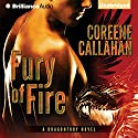 Fury of Fire: Dragonfury, Book 1 (       UNABRIDGED) by Coreene Callahan Narrated by Benjamin L. Darcie