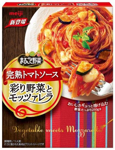まるごと野菜 完熟トマトソース 彩り野菜とモッツァレラ 155g×5