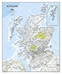 Scotland Classic, tubed Wall Maps Cou...