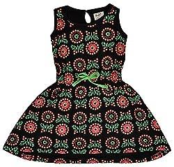 Pinehill Girls' Dress (Multi-Colour, 5 Years)