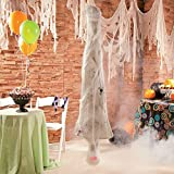 Hanging Upside Down Cobweb Spider Mummy Spooky Scary Halloween Haunted House Prop Decor