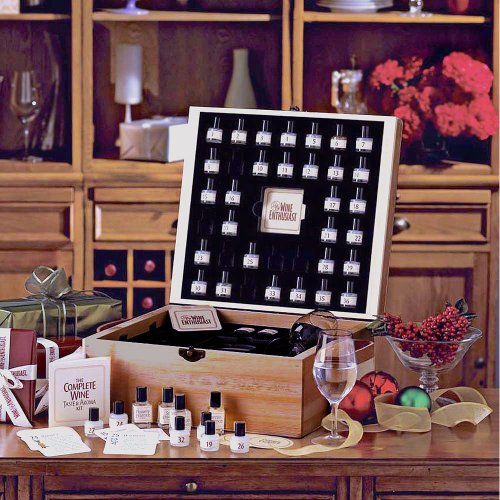 The Wine Enthusiast Complete Wine Tasting and Aroma Kit