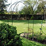 Kingfisher Self Assembly Garden Arch For Climbing Plants & Roses