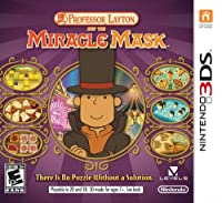Professor Layton and The Miracle Mask - Nintendo 3DS from Nintendo