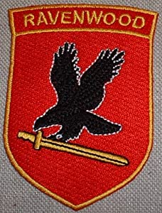 Jericho TV Series RAVENWOOD Security Embroidered PATCH