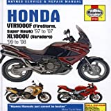 Honda VTR1000F (FireStorm, Super Hawk) and XL1000V Varadero) Service and Repair Manual: 1997 to 2008 (Haynes Service and Repair Manuals) Matthew Coombs