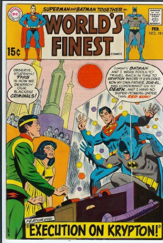 World's Finest #191 Superman Batman VF (World's Finest)