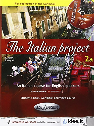 The Italian Project: Student's Book + Workbook + DVD + CD-Audio 2a (The Italian Project 2a compare prices)