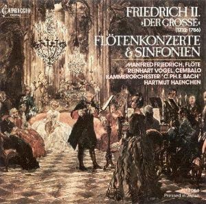 Flötenkonzerte Und Sinfonien