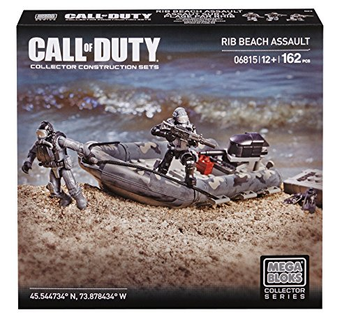 Mega Bloks Call of Duty RIB Beach Assault, Model 06815