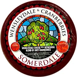 Wensleydale with Cranberries - 2.5 lb