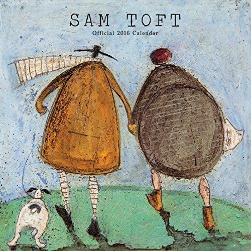 Sam Toft 2016 Square Calendar