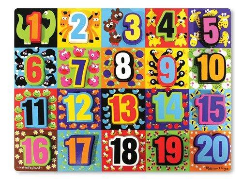 Melissa & Doug Chunky Puzzle - Jumbo Numbers