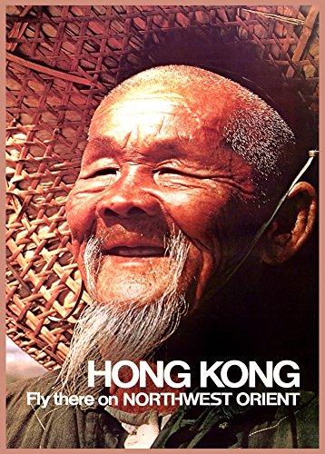 hong-kong-fly-there-on-northwest-orient-airlines-reproduccion-sobre-calidad-200gsm-de-espesor-en-car