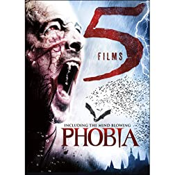 5-Film Horror: Vamperifica / Phobia / Blood Red Moon / Avia Vampire Hunter / Blood Relic