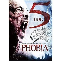 5-Film Horror: Vamperifica / Phobia / Blood Red Moon / Avia Vampire Hunter / Blood Relic