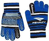 (ペナルティ)PENALTY サッカー フットサル 手袋 ジュニア ニットグローブ PE6719J 80 ブルー FREE