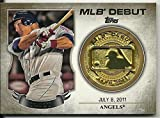 2016 Topps Series 1 #MDM-MT Mike Trout MLB Debut Commemorative Medallion Coin
