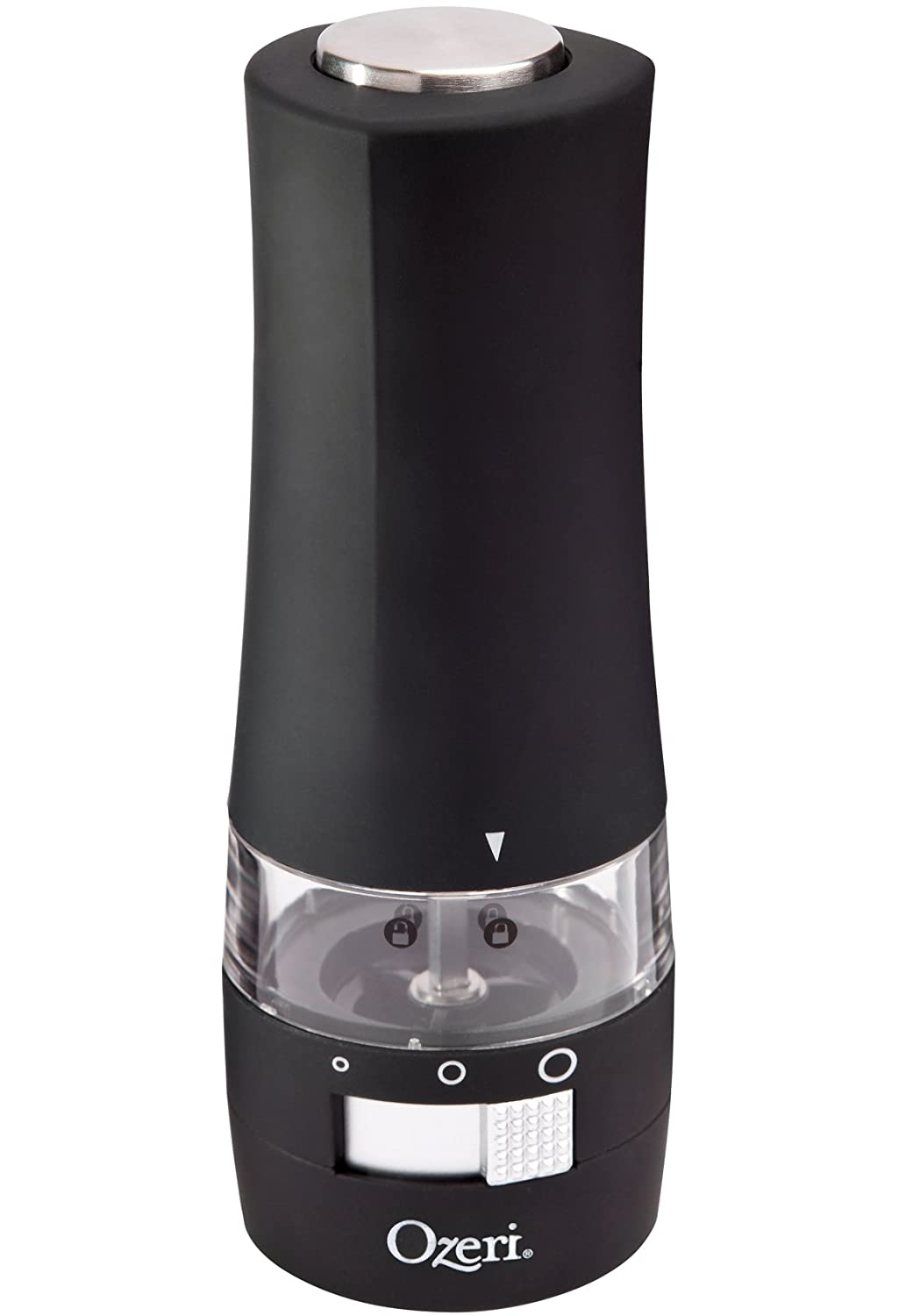 Ozeri Savore Soft Touch Electric Pepper Mill and Grinder $12.5