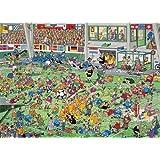 JUMBO 00030 - Jan van Haasteren, Das Fußballspiel, 1000 Teile Puzzle