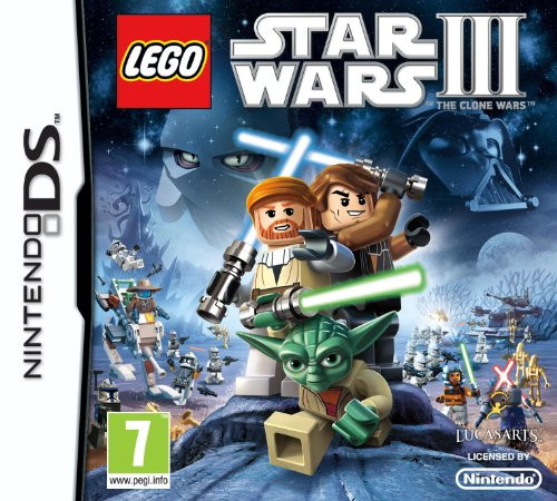 Lego Star Wars 3 The Clone Wars  (Nintendo DS)
