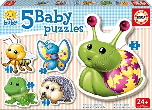 Puzzles Educa - Baby Puzzles animales del bosque (15892)