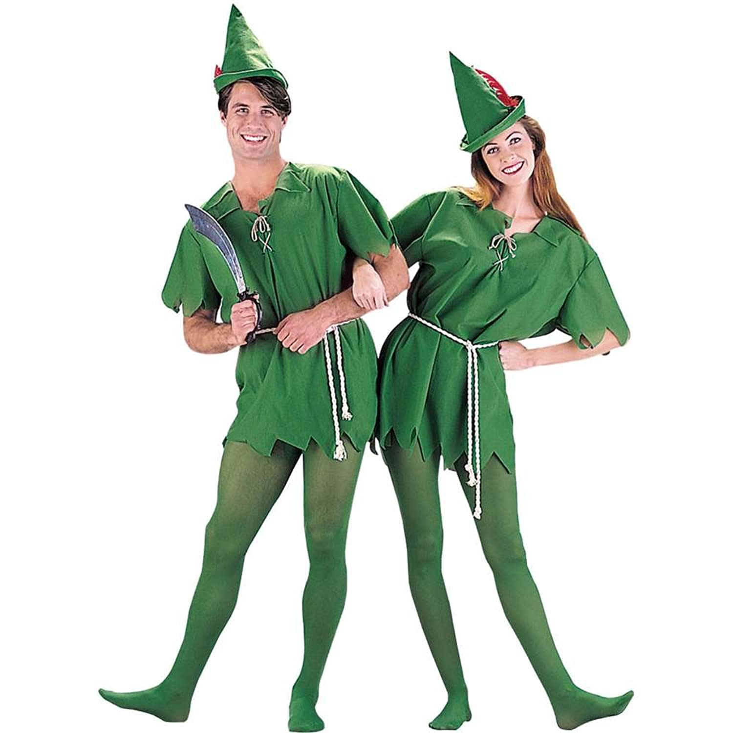 Peter Pan And Wendy Couple Costumes Peter Pan Adult Costume