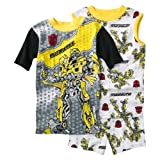 Transformers Boys' Sleepwear 3-piece Pajama Set - Yellow