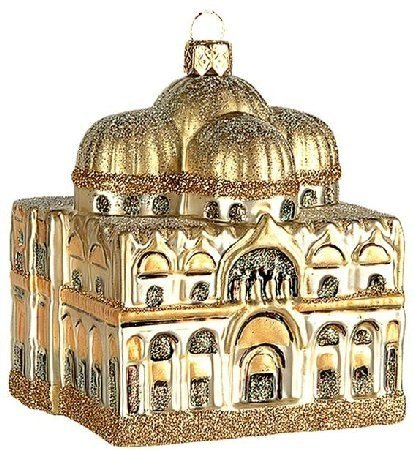 St. Mark's Basilica Polish Glass Christmas Ornament