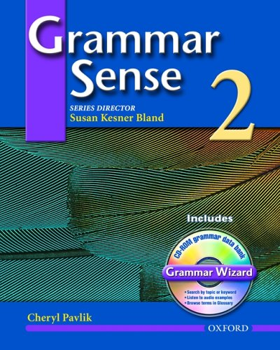 Grammar Sense 2: Student Book with Wizard CD-ROM