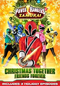 Power Rangers Samurai Christmas Together Friends Forever Dvd from LIONSGATE