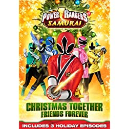 Power Rangers Samurai: Christmas Together, Friends Forever DVD