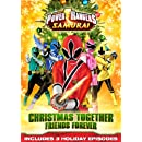 Power Rangers Samurai: Christmas Together, Friends Forever DVD