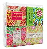 In Bloom Soap Sampler - Boxed Set of 4 Assorted Scents