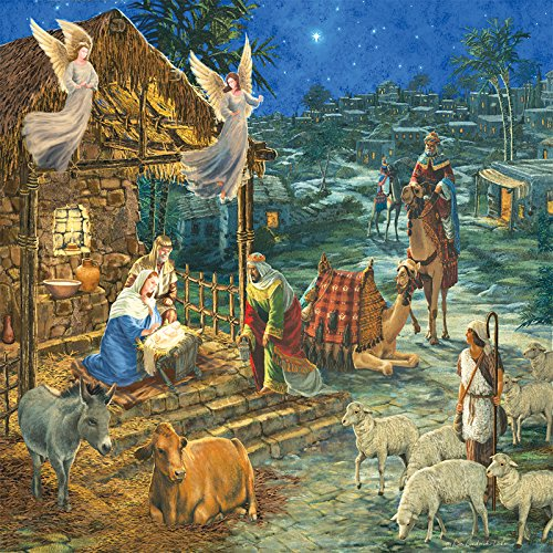 Visit to Bethlehem 1000 Pc Jigsaw Puzzle by Sunsout