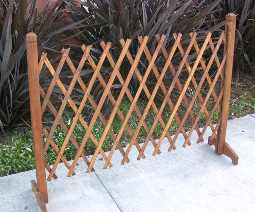 Garden Creations JB4710 Extendable Instant Fence (Wooden Fence Panels compare prices)