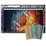 Fantasy Football Draft Poster Kit **2016** | XL 60