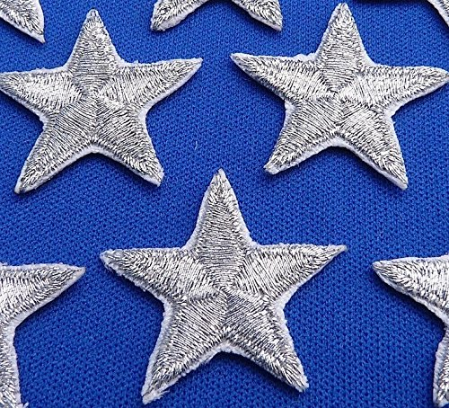 pack-of-10-silver-iron-on-or-sew-on-star-patch-applique