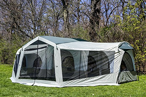 Tahoe Gear Carson 3-Season 14 Person Large Family Cabin Tent | TGT-CARSON-18 (Tahoe Gear compare prices)