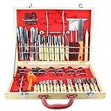 Culinary Carving Tool Set Fruit Vegetable Food Garnishing / Cutting / Slicing Garnish Tools Kit (80 pcs)