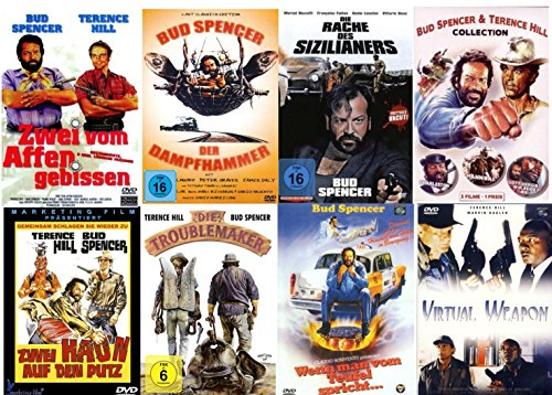 Bud Spencer & Terence Hill Box Collection Reloaded ( 10 Filme ) [8 DVDs]