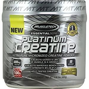MuscleTech Essential Series Platinum 100% Creatine 80 svg