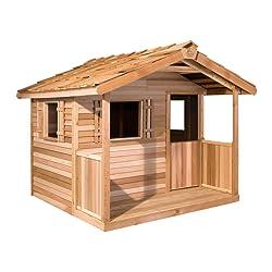 Cedar Shed Log Cabin Playhouse