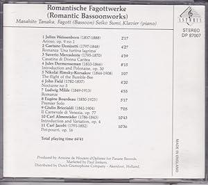 Romantische Fagottwerke (Romantic Bassoonworks)