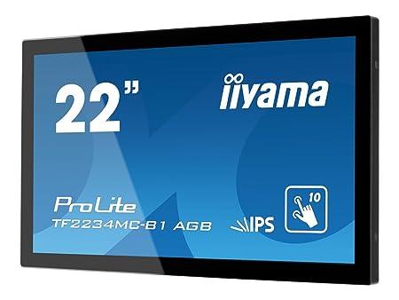 "Iiyama TF2234MC Touch Ecran PC LED 22"" 1920 x 1080 14 ms VGA/DVI/HDMI"