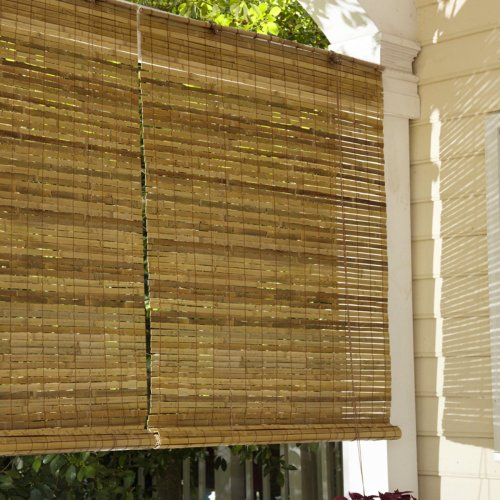 lewis hyman 010810 laguna bamboo roll up blind price anything canopies shade. Black Bedroom Furniture Sets. Home Design Ideas