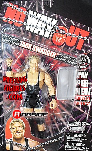 WWE Wrestling PPV Pay Per View Series 21 Action Figure Jack Swagger