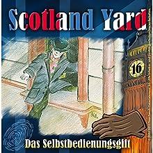 Das Selbstbedienungsgift (Scotland Yard 16) Hörspiel von Wolfgang Pauls Gesprochen von: Freddy Quinn, Sascha Draeger, Christian Stark, Svenja Pages